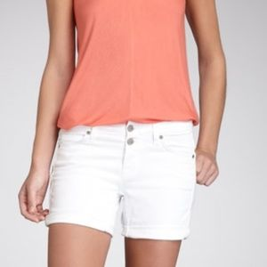VINCE Luce White Denim Shorts